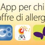 Sei un soggetto allergico? Ecco per te una serie di App per chi soffre di allergie e intolleranze!