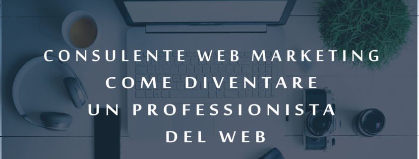 Consulente web marketing come diventare un professionista del web