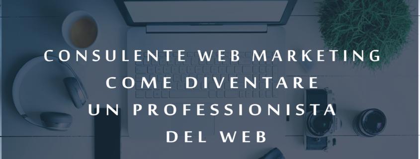 Consulente web marketing come diventare un professionista del web